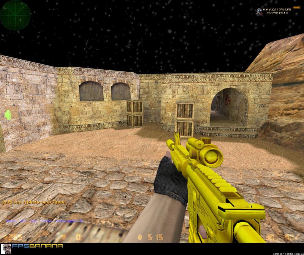 cs 1.6 goldweapon