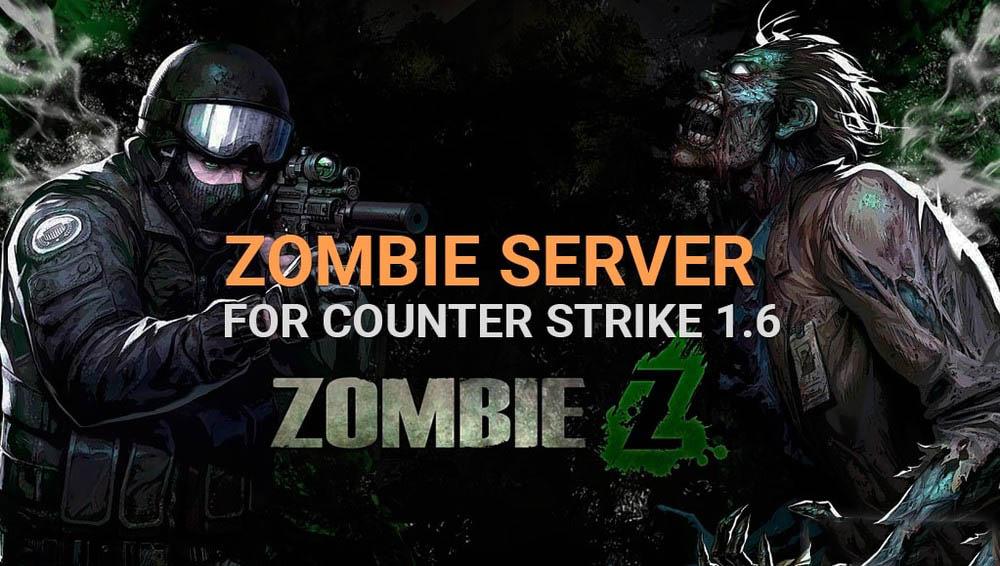 Готовый зомби сервер для CS 1.6