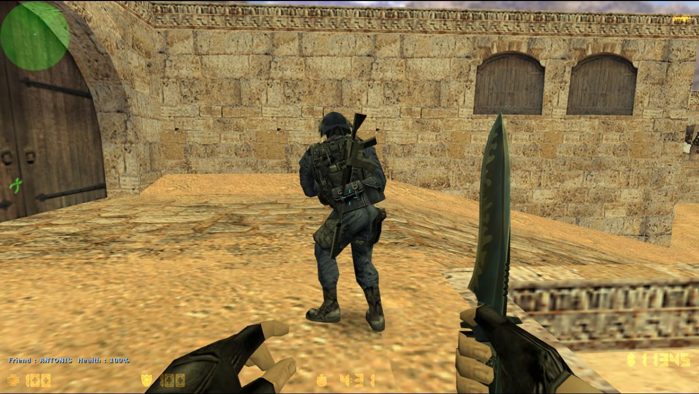 Плагин BackWeapons (Оружие за спиной) для CS 1.6